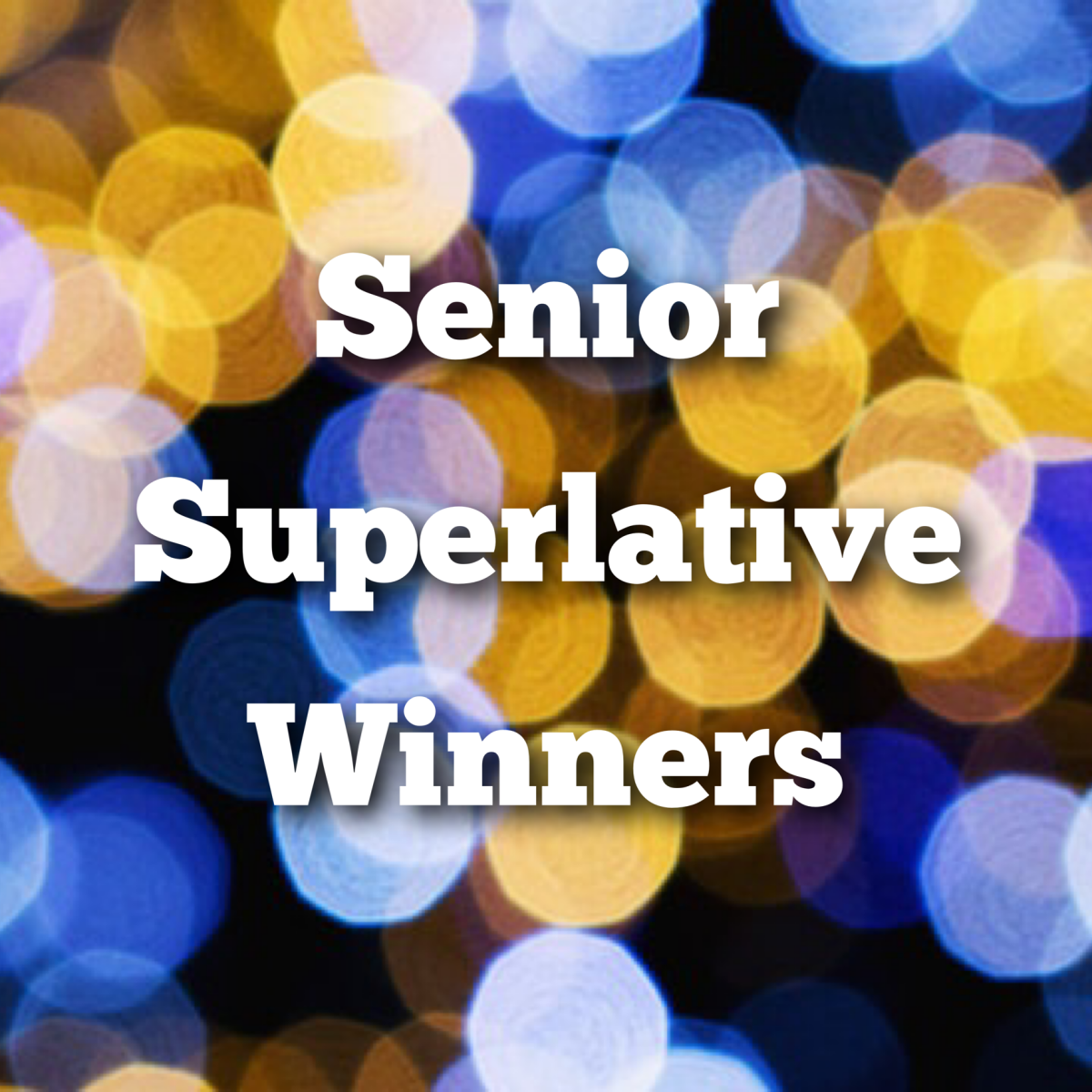 Senior Superlative Winners