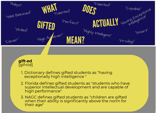 "What does Gifted mean graphic? Three definitions of ""gifted"""