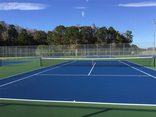 Renovated Tennis Courts