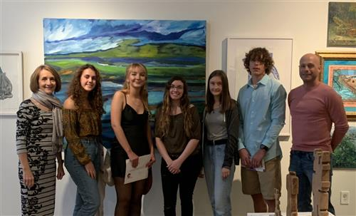 East Lake Art students' work displayed