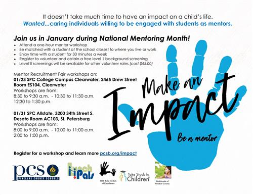 January Mentor Month