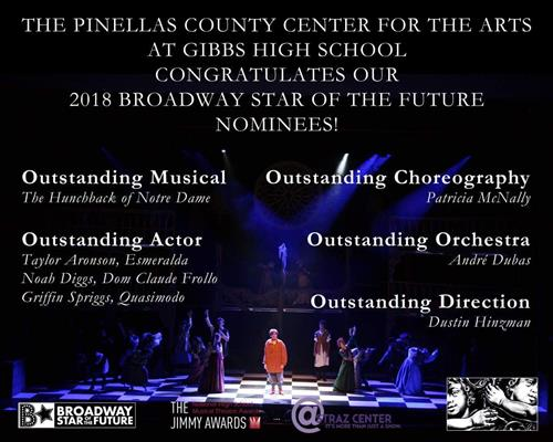 PCCA Broadway Star of the Future 2018