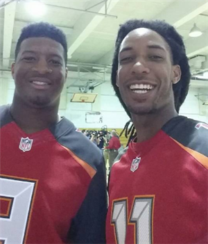 Jameis Winston and Mr Goshay