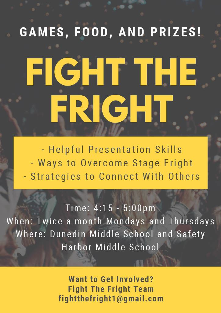 Fight the Fright - Overcome fears of Public Speaking