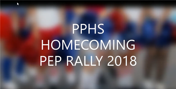 Homecoming Pep Rally Video - Click Here to Play