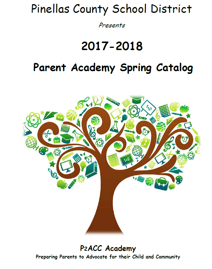 Parent Academy Spring Catalog