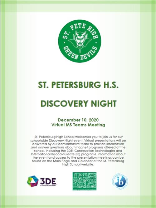 SPHS Discovery Night