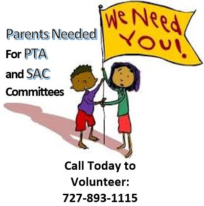 Parents Needed to Volunteer