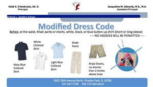 Modified Dress Code