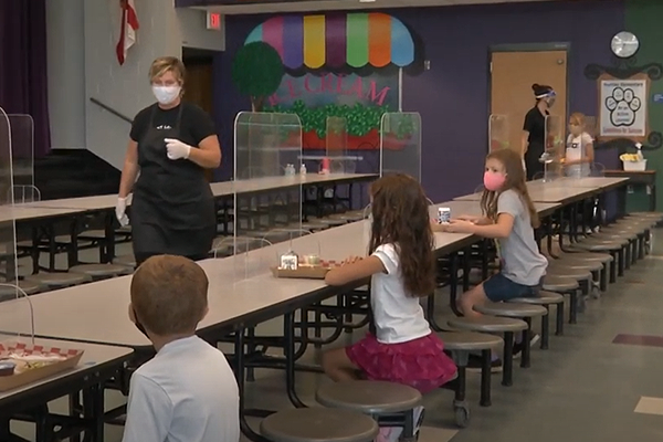 What to expect in the Elementary school cafeteria
