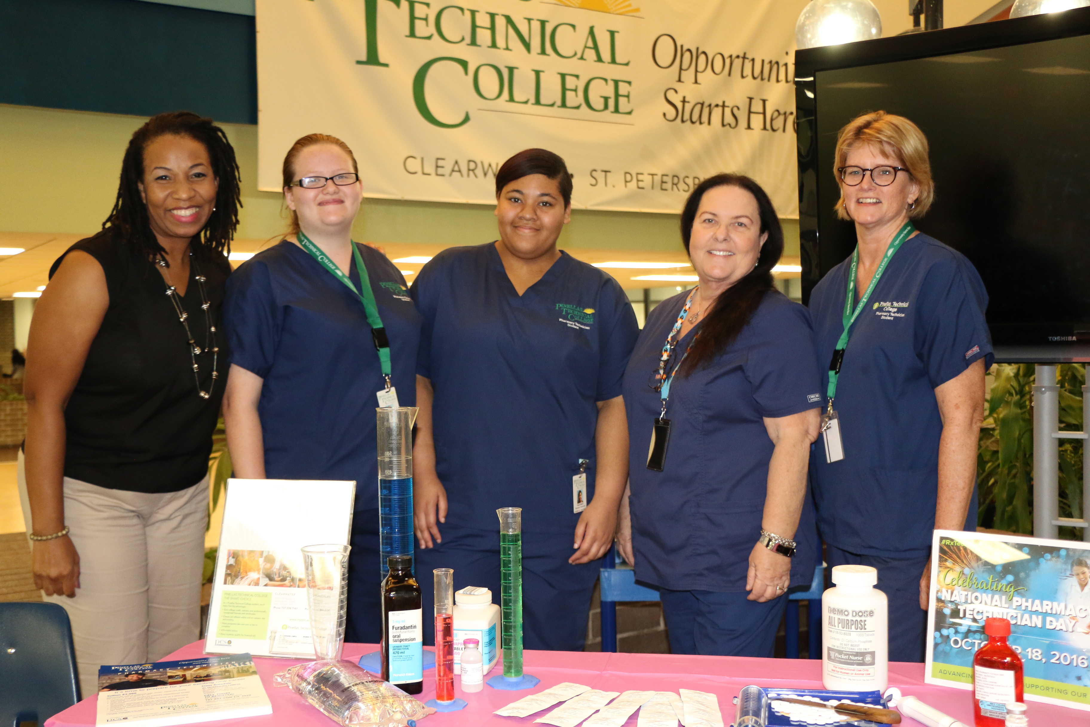 Pharmacy Tech at Open House