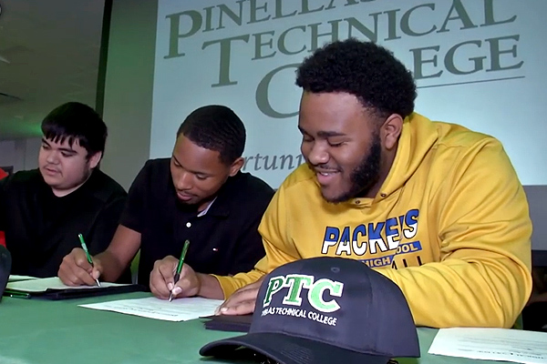 Pinellas Technical College - National Signing Day