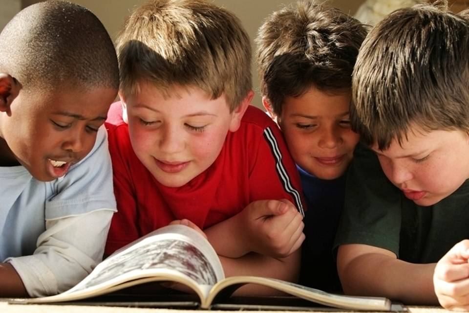 PTA Kids Reading Image