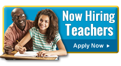 Now Hiring Teachers - Apply Now