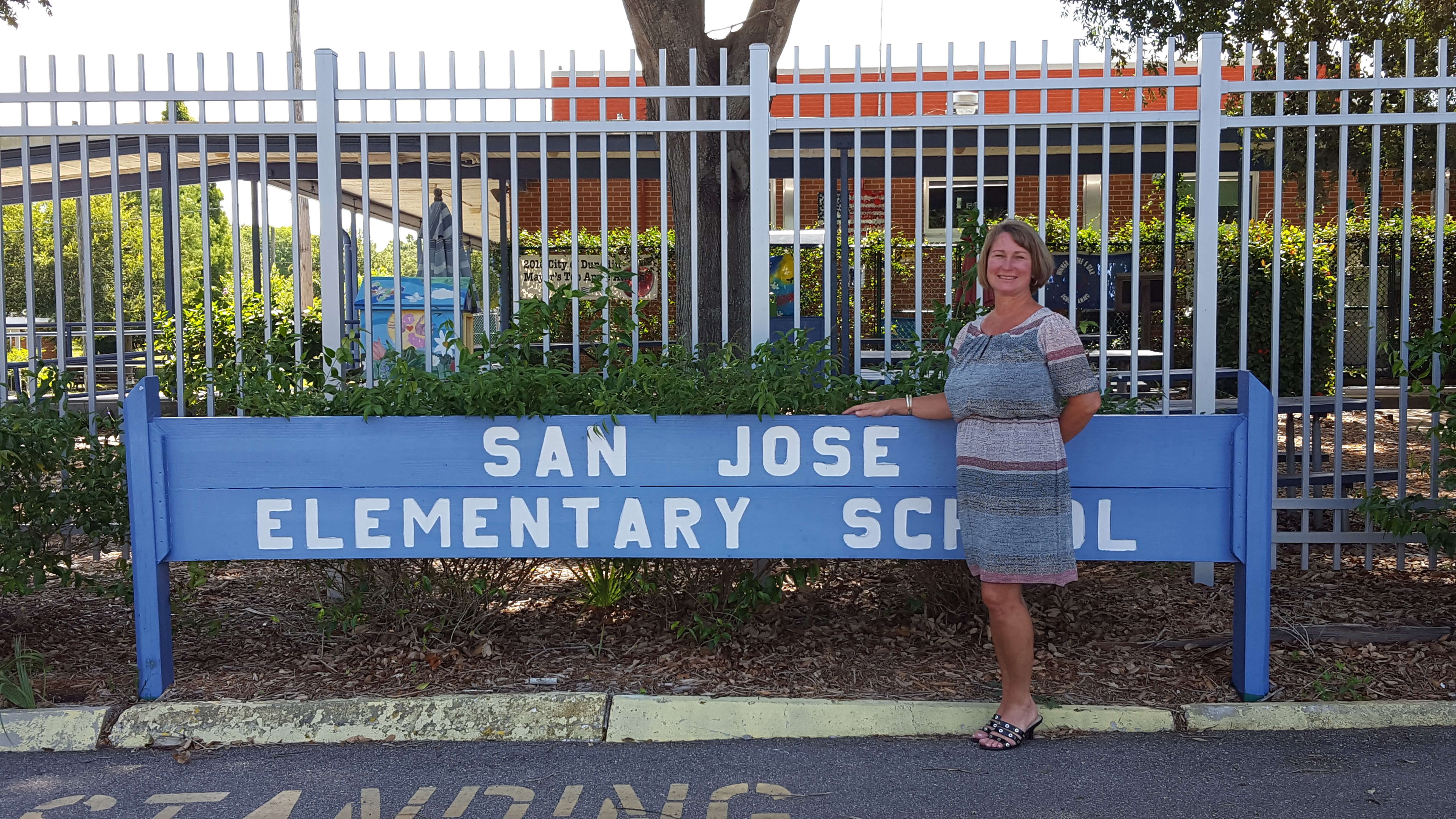 Lisa Brown, Principal of San Jose Elementary