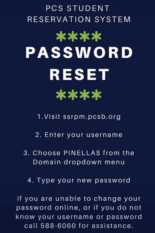 Parent Password Reset