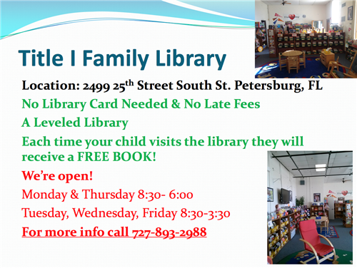 Title 1 Family Library