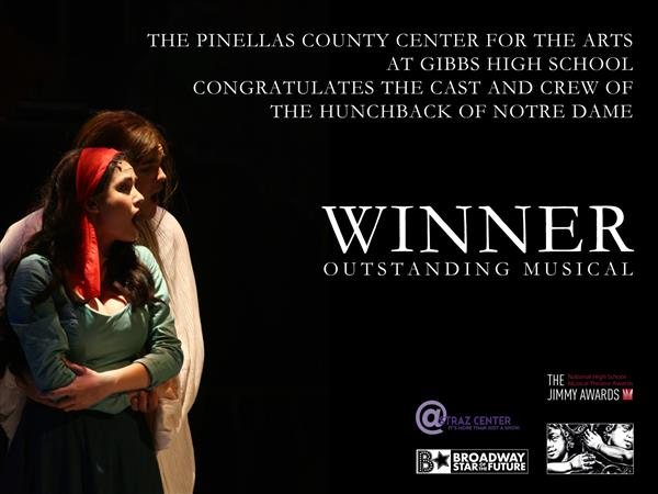 Winner outstanding musical