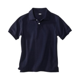 uniform navy polo