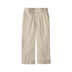 uniform khaki capris