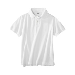 uniform white polo
