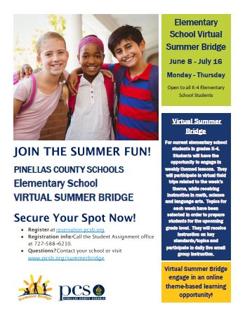 Virtual Summer Bridge info