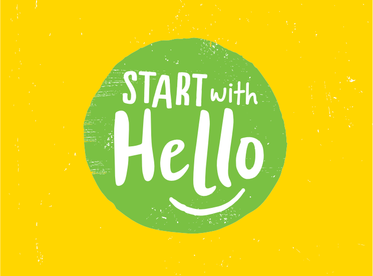 """Start with Hello"" Kindness Week"