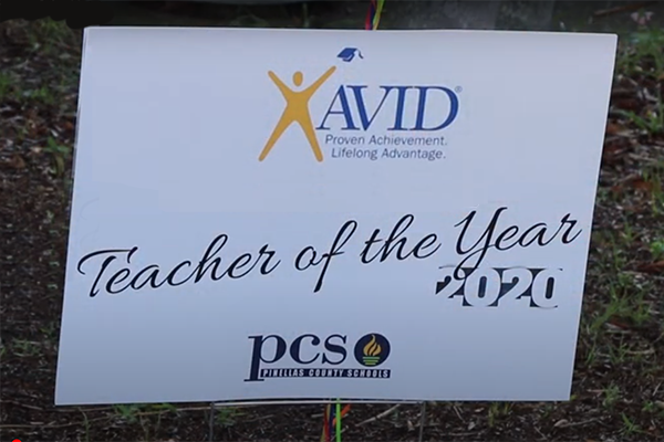 AVID Teachers of the Year