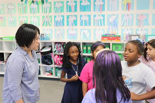 A teacher from Japan spends a month in Pinellas County