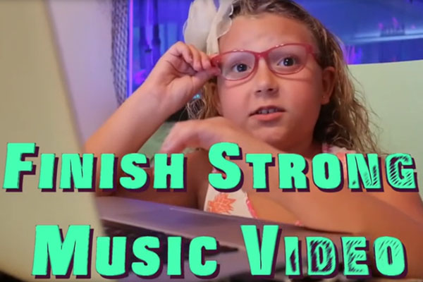 Finish Strong Music Video