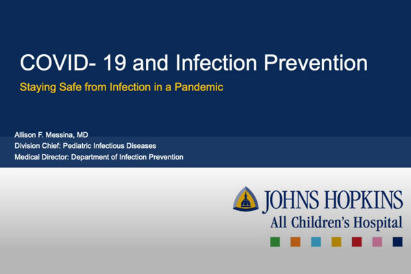 COVID-19 and infection prevention