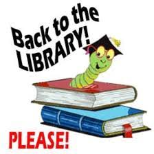 Please return Library books!!