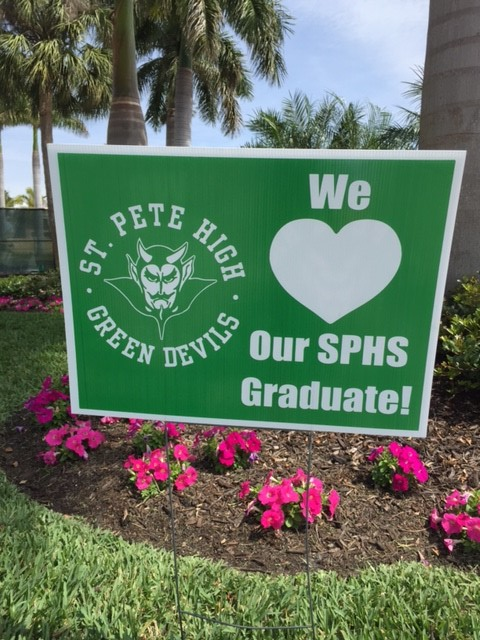 SPHS Yard Sign for Graduation