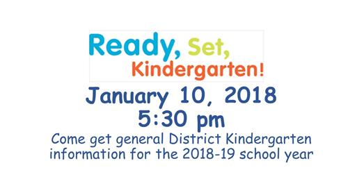 Ready Set Kindergarten