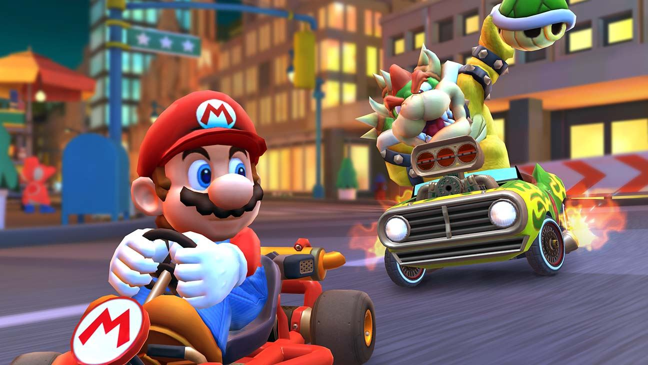 Mario Kart Tour finishes last