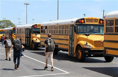 Dismissal will be 15 minutes earlier next year