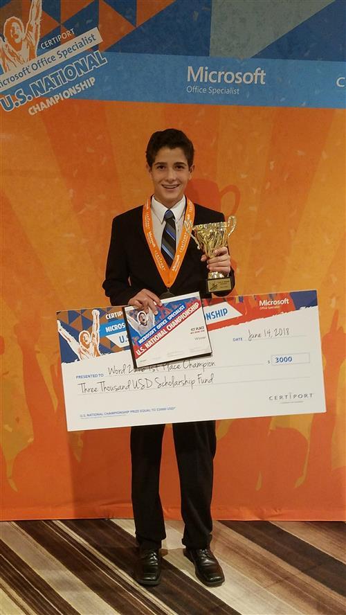 — Ayden Soto, a rising sophomore at Osceola Fundamental High