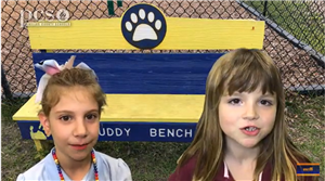 Students talk about the Buddy Bench