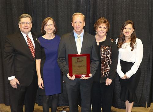 Dr. Grego recieves FMEA award
