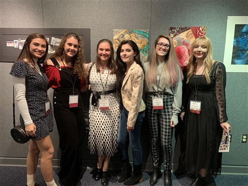 Pinellas Art Region Scholastic Art winners