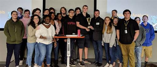 Lakewood High School students win first place in an innovation.