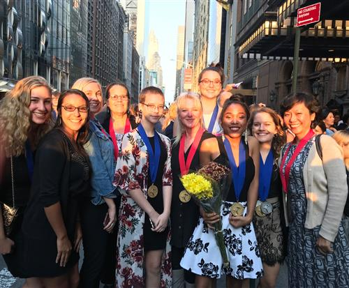 National Scholastic Art Awards winners in NYC