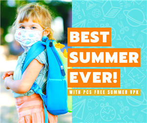 Best Summer Ever with PCS Free Summer VPK