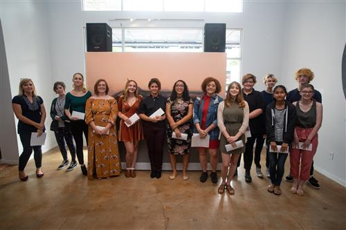 Students honored at the Word and Image awards ceremony