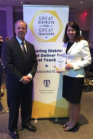 Great Districts for Great Teachers Award