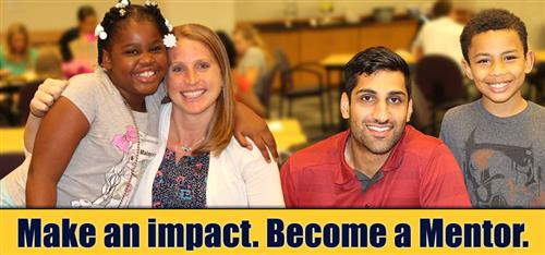 Make an impact. Become a Mentor.