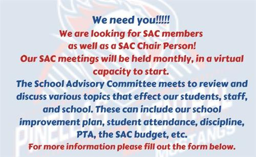 SAC Member Request