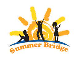Summer Bridge Logo children and sun