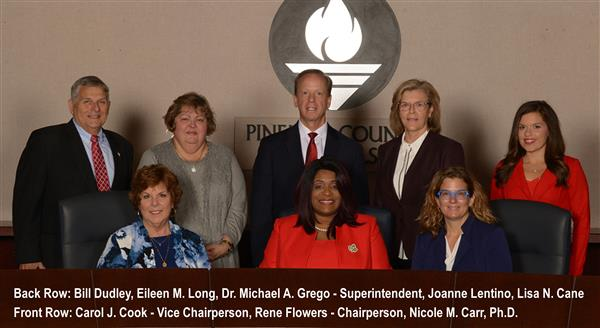 Pinellas County School Board  - Carol J. Cook, Rene Flowers, Nicole M. Carr, Ph.D., Bill Dudley, Eileen M. Long, Dr. Michael A. Grego, Joanne Lentino, Lisa N. Cane