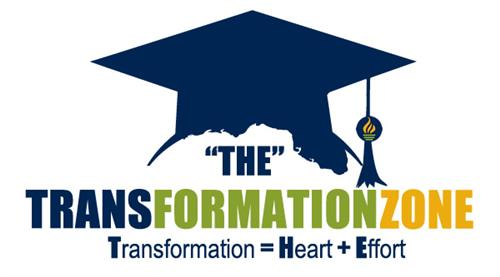 """THE"" Transformation Zone - Transformation=Heart+Effort"